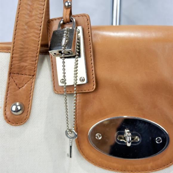 Leather & Linen Konstantin Starke New York Handbag